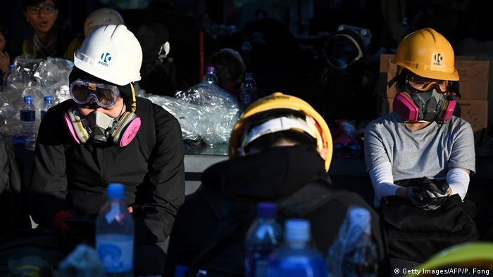Hongkong Proteste (Getty Images/AFP/P. Fong)