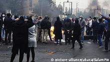 Iran Proteste gegen Benzinpreiserhöhung
