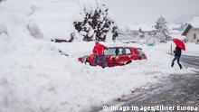 Österreich Wintereinbruch