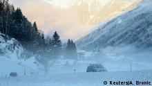 Cars are seen on the road near the town of Winklern, Austria, November 14, 2019. REUTERS/Antonio Bronic