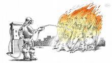 Iran Karikatur von Mana Neyestani