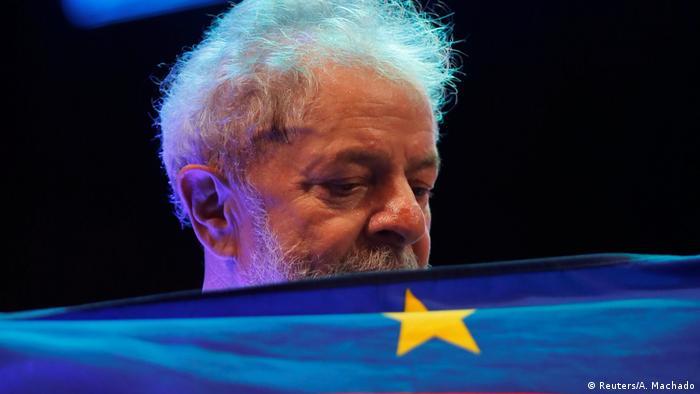 Brasilien Ex-Präsident Luiz Inacio Lula da Silva in Recife