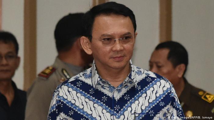 Basuki Tjahaja Purnama indonesischer Politiker (Getty Images/AFP/B. Ismoyo)