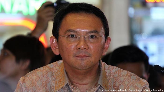 Basuki Tjahaja Purnama indonesischer Politiker (picture-alliance/Pacific Press/Kuncoro Widyo Rumpoko)
