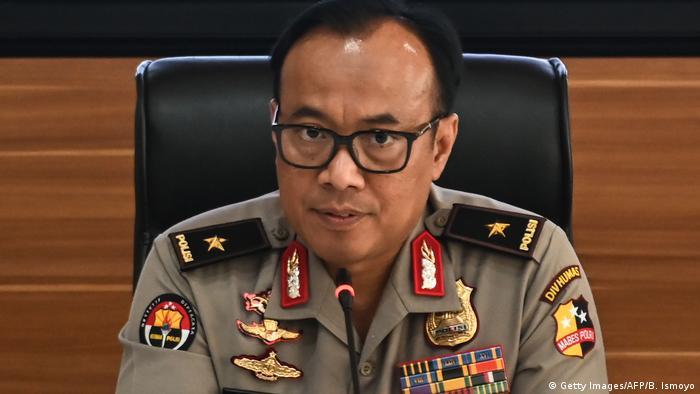 Indonesia police spokesman Dedi Prasetyo (Getty Images/AFP/B. Ismoyo)