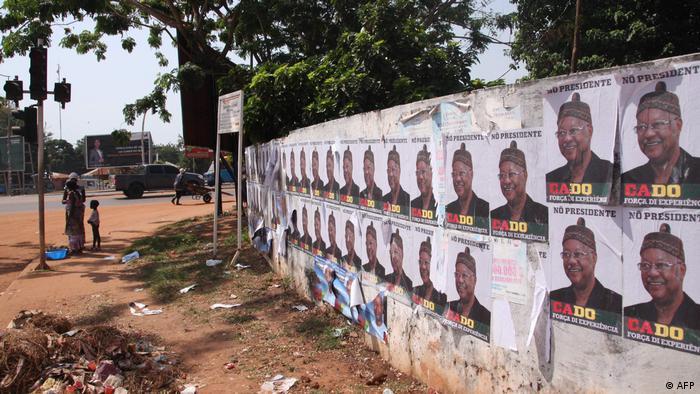 Guinea Bissau Wahlen Wahl-Kampagne