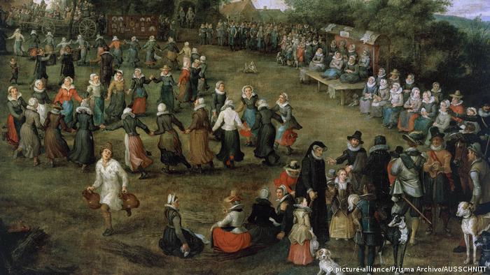 Jan Brueghel's Peasant Dance for the Archdukes (picture-alliance/Prisma Archivo/AUSSCHNITT)