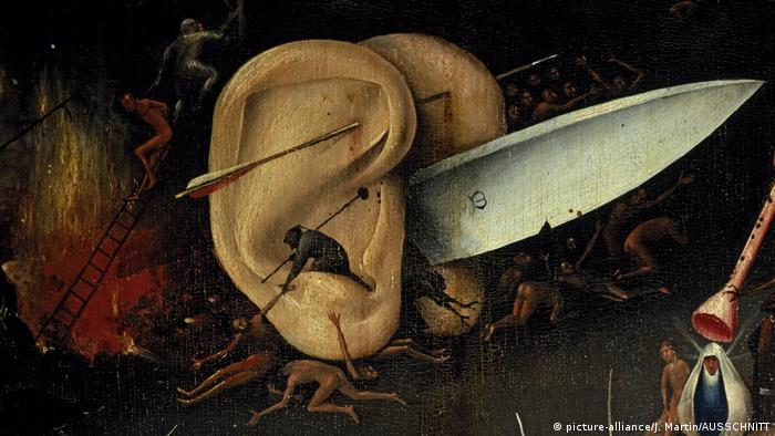 Detail from Hieronymus Bosch's The Garden of Earthly Delights, (picture-alliance/J. Martin/AUSSCHNITT)