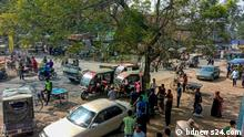 Busfahrer Streik Bangladesch
