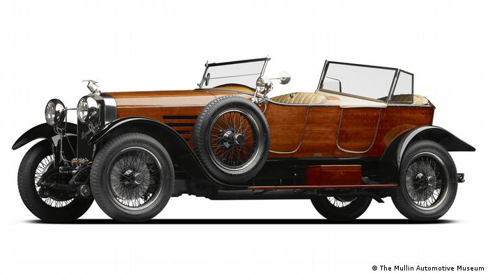Ein Modell des Hispano-Suiza Type HB6 (The Mullin Automotive Museum)