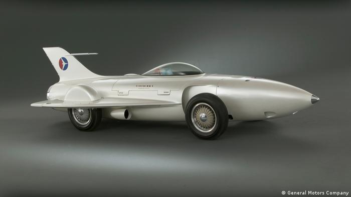General Motors Firebird I sieht aus wie ein Düsenjet (General Motors Company)