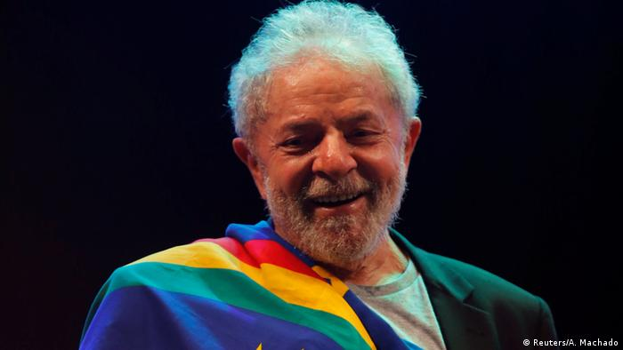 Brasilien Ex-Präsident Luiz Inacio Lula da Silva in Recife (Reuters/A. Machado)