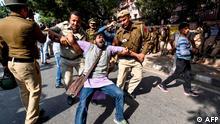 Indien Stundenten-Protest in Dehli