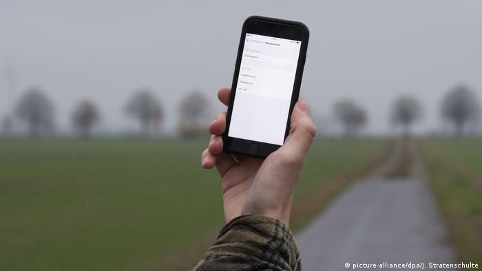 Deutschland Symbolbild Mobilfunkmasten