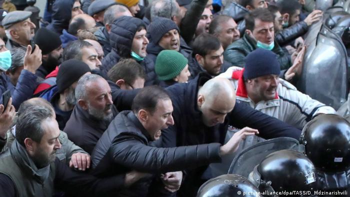 Попытка штурма грузинского парламента в 2019 году