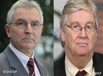 Бывший и нынешний главы Opel Ханс Деманд и Ник Рейли