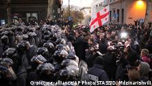Georgien Tiflis Proteste