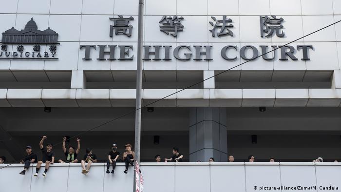 Hongkong High Court Proteste (picture-alliance/Zuma/M. Candela)