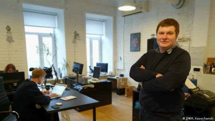 Moskau Transparency International Anton Pominow