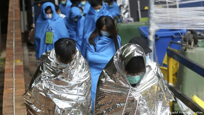 Hongkong Proteste Polytechnische Universität Verletzte