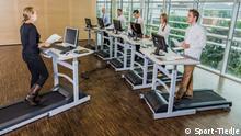 Was tun Mittelständler für die Gesundheit ihrer Mitarbeiter? | Desktop Laufbänder