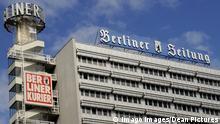 Deutschland Berlin Haus des Berliner Verlages Sitz der Berliner Zeitung