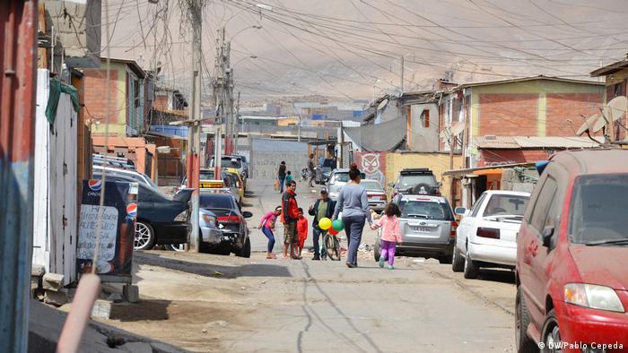 Chile Arica Gifte Abfälle von Promel (DW/Pablo Cepeda)