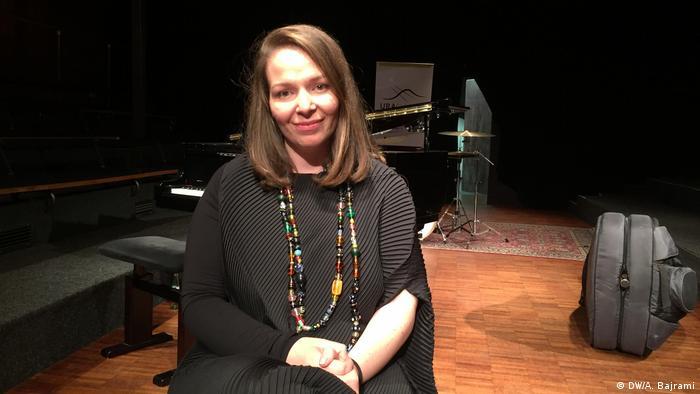 Rona Nishliu - Jazz Sängerin aus Kosovo (DW/A. Bajrami)