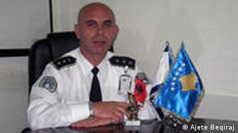 Fahredin Verbovci, shef i Departamentit për Çështje të Komunitetit në Policinë e Kosovës.