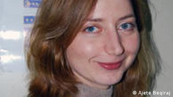 Kirsten Joppe, shefe e Sektorit për Monitorimin e Sigurisë në Departamentin për të Drejtat e Njeriut dhe të Komuniteteve të OSBE -së.