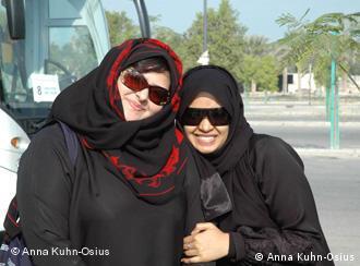 Marjam (links) und ihre Freundin in Dubai