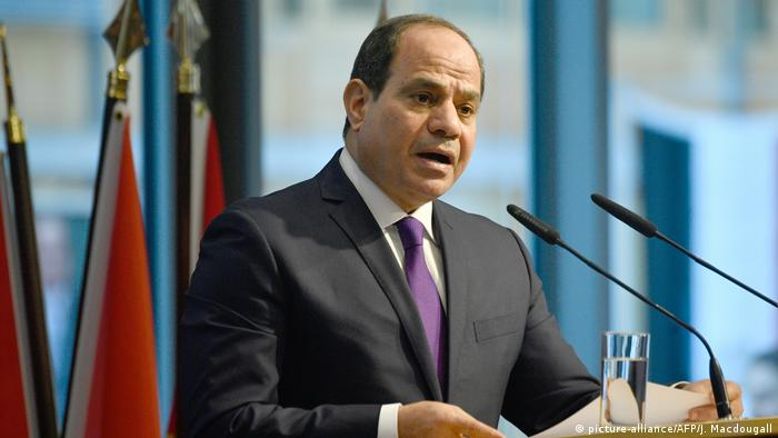 Deutschland Compact with Africa Initiative in Berlin   Agyptischer Präsident al-Sissi