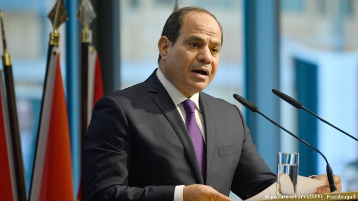 Deutschland Compact with Africa Initiative in Berlin | Agyptischer Präsident al-Sissi