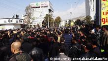 Iran Proteste gegen Erhöhung der Benzinkosten