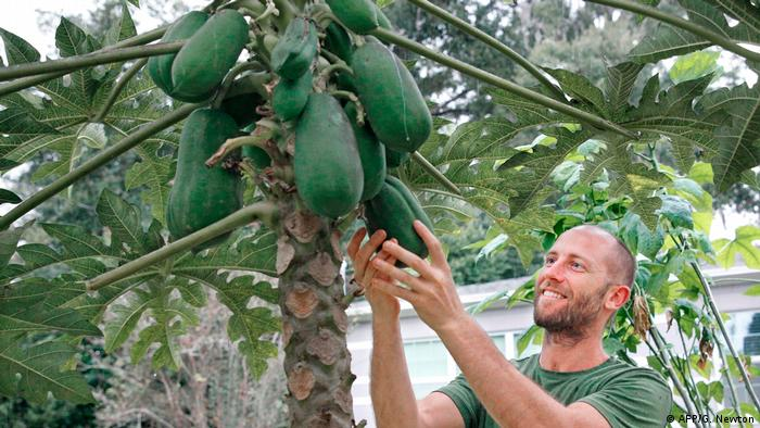 USA Florida Rob Greenfield ist Selbstversorger (AFP/G. Newton)
