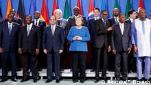 Deutschland Berlin | Konferenz Compact with Africa | Angela Merkel, Bundeskanzlerin | Gruppenbild
