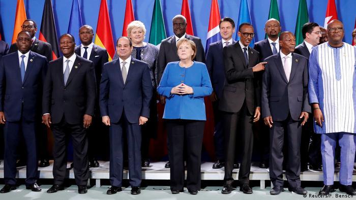 A chanceler Angela Merkel recebeu os líderes africanos pela terceira vez em Berlim, no âmbito do Compact with Africa