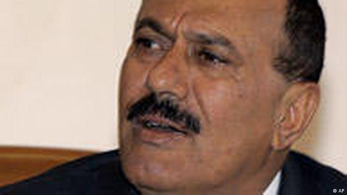 Jemen Präsident Ali Abdallah Saleh (AP)