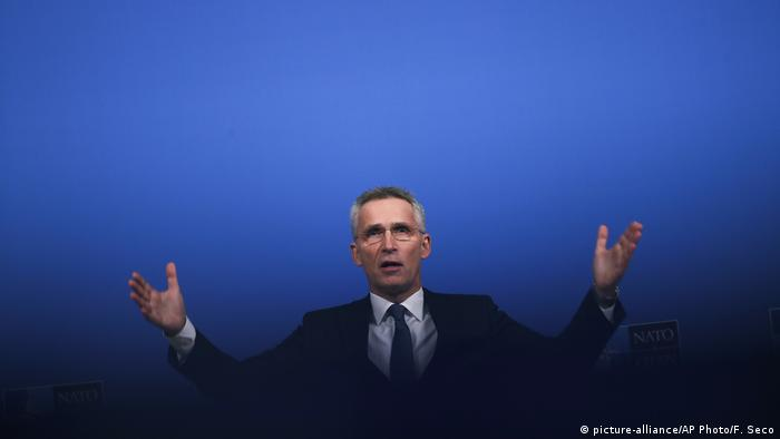 Jens Stoltenberg (picture-alliance/AP Photo/F. Seco)