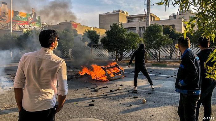Iran Protest Benzinpreise
