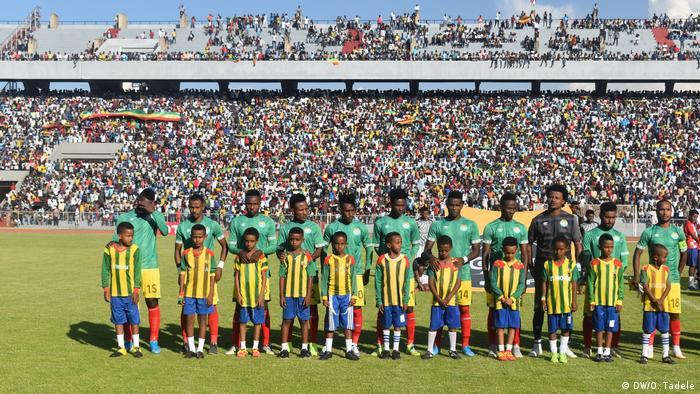 Athiopien Fußballspiel   Äthiopien vs. Elfenbeinküste