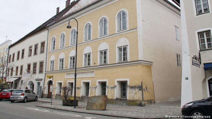 Дом в австрийском городе Браунау-ам-Инн, в котором родился Адольф Гитлер