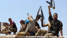 Jemen 2015 | Houthi-Rebellen bei Bab al-Mandab