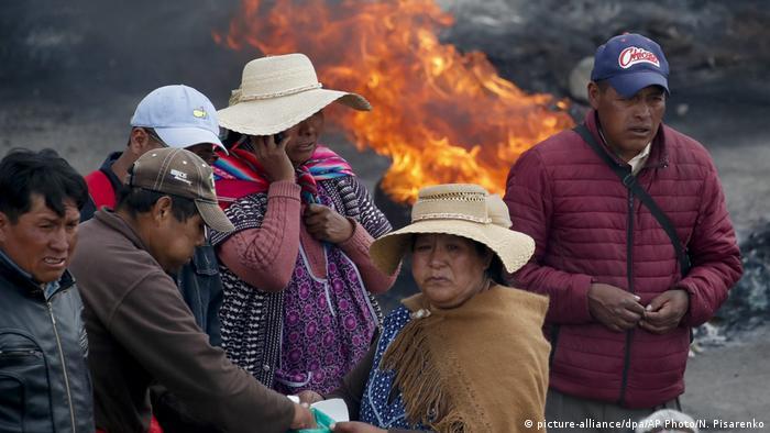 Bolivia, en la encrucijada electoral, en medio de la violencia.