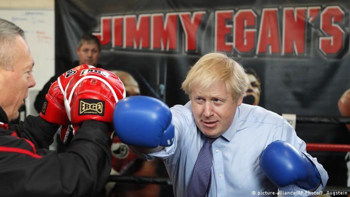 Boris Johnson (picture-alliance/AP Photo/F. Augstein)