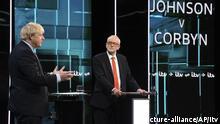 TV-Duell im Wahlkampf in Großbritannien - Johnson gegen Corbyn
