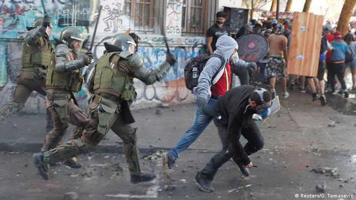 Policía chilena reconoce responsabilidad en casos de abusos en las protestas  | Chile en DW | DW | 12.12.2019