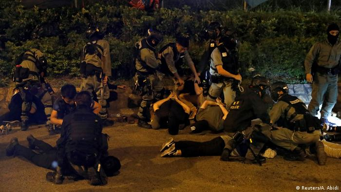 Over the past couple of days, more than 1,000 people have been arrested, authorities said