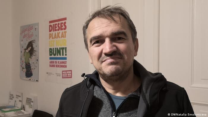Aycan Demirel, the founder of Kreuzberg Initiative against Anti-Semitism