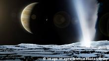 Illustration Jupitermond Europa